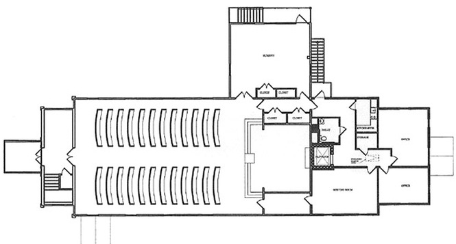 Floor plans congregational church for Floor plan church